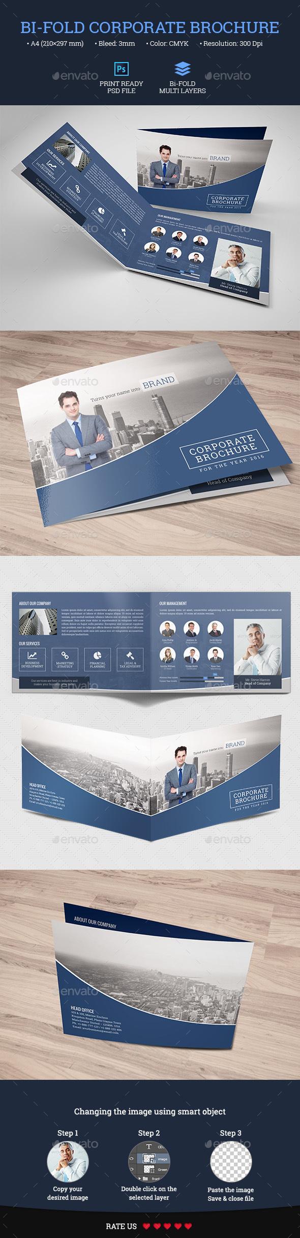Bi-Fold Corporate/Business Brochure - Corporate Brochures