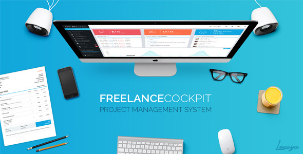 Freelance Cockpit 3 - Project Management and CRM - CodeCanyon Item for Sale