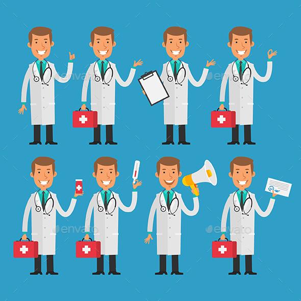 Doctors - People Characters