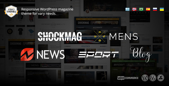 Shockmag: Magazine/Blog theme for vary needs