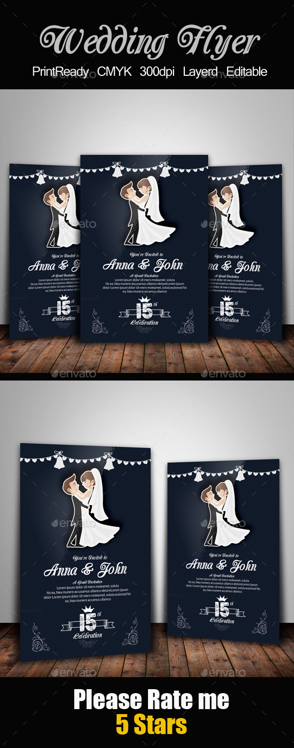 Wedding Flyer Template - Events Flyers