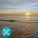 Beach Sunrise Aerial 1 - VideoHive Item for Sale