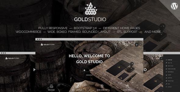 Gold - WooCommerce One Page Multi-Purpose Theme - Creative WordPress