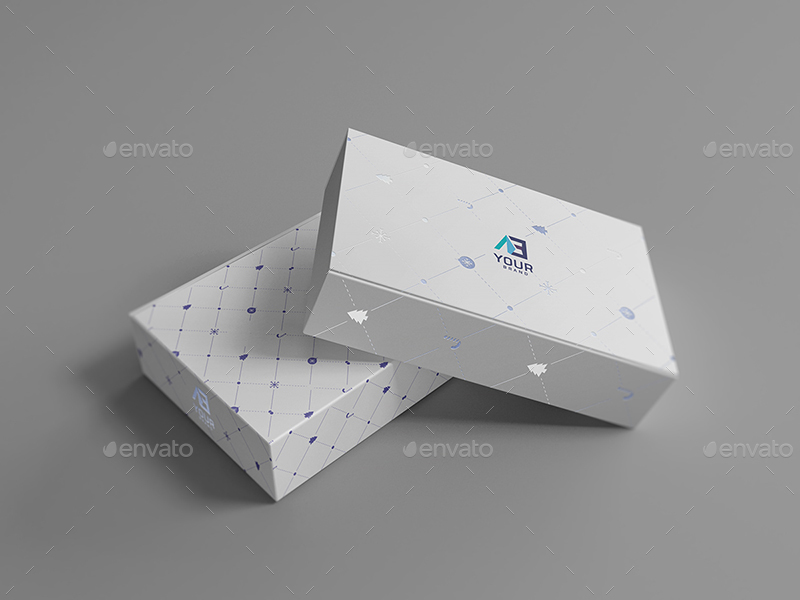 Package Box Mockups Vol9 By Wutip Graphicriver