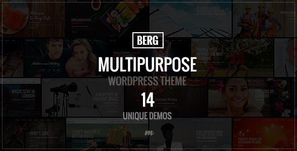 Berg – Multipurpose Responsive Theme