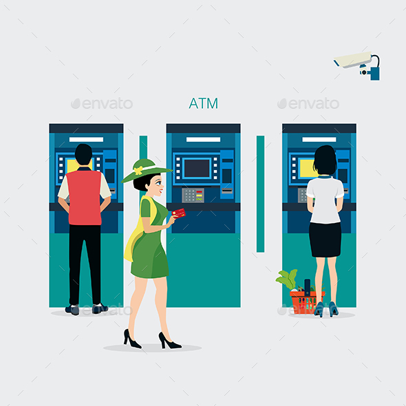 Credit Cards - People Characters