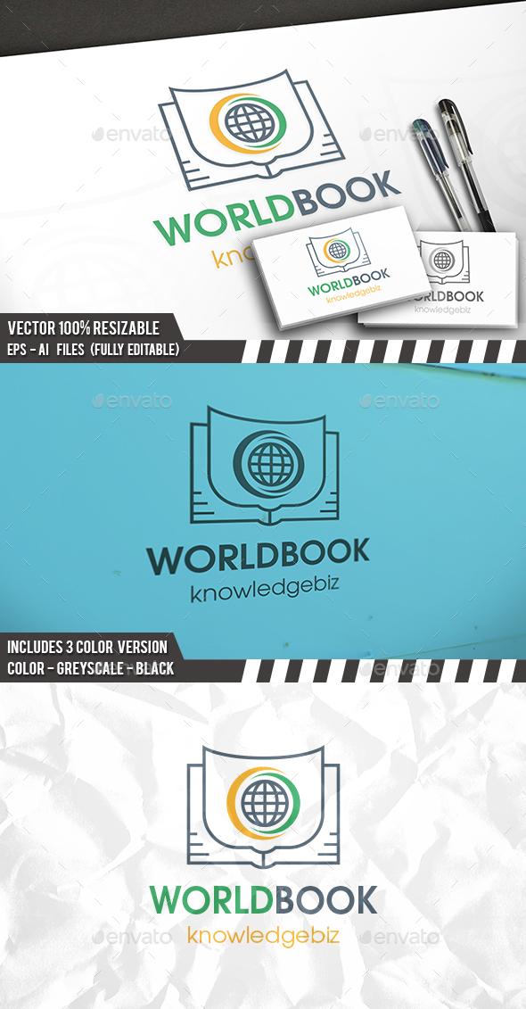 World Book Logo - Symbols Logo Templates
