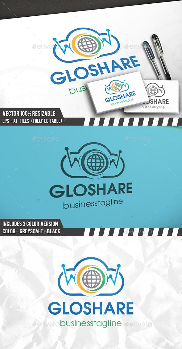 Global Share Logo - Symbols Logo Templates