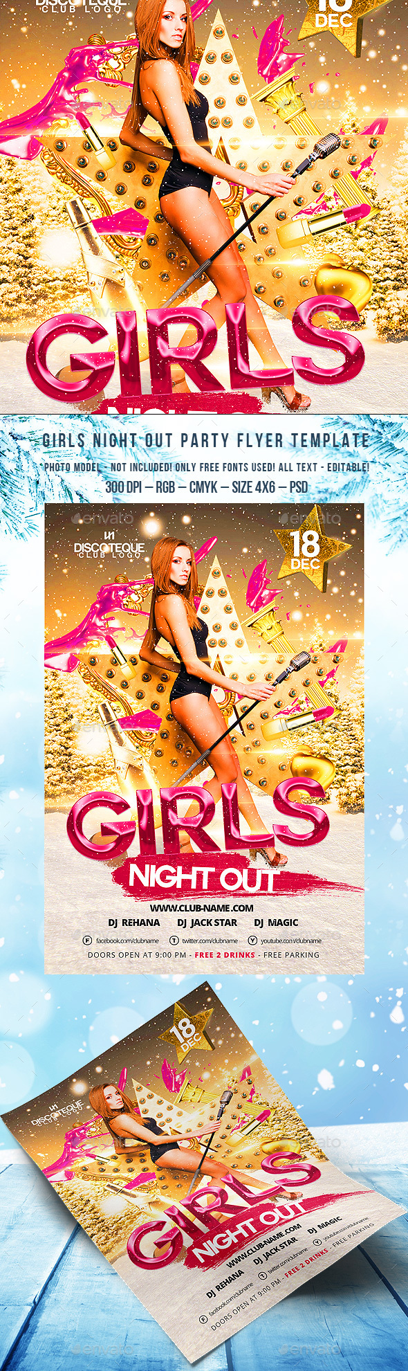 Girls Night Out - Clubs & Parties Events
