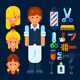 Professional Hairdresser - GraphicRiver Item for Sale