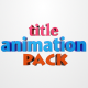 3D Title Animation Pack V1.0 - VideoHive Item for Sale