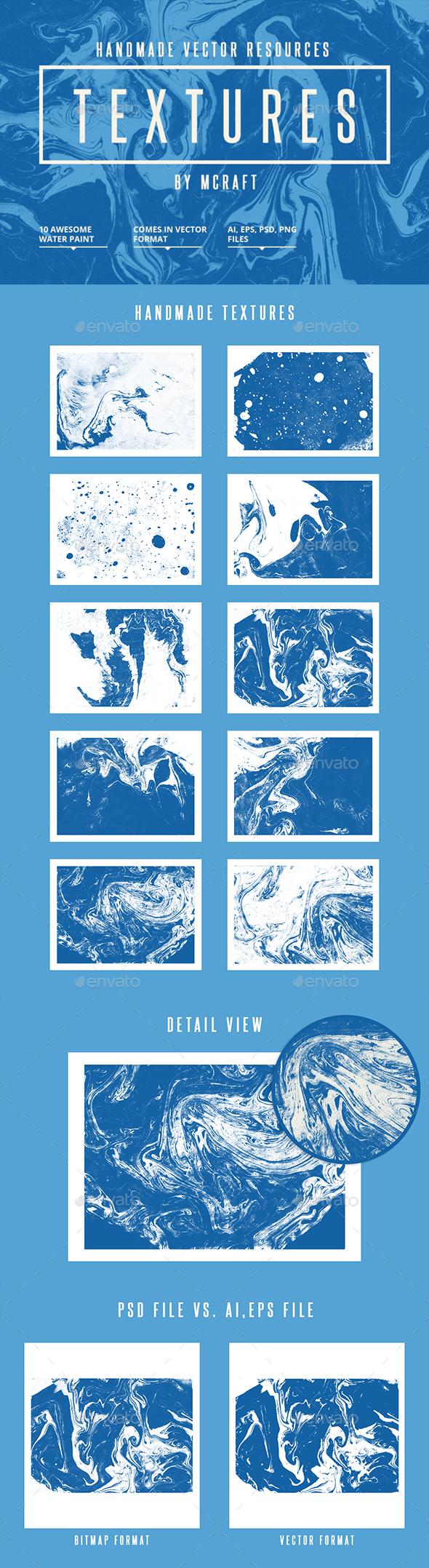 Water Painting Texture - Liquid Textures