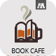 Book Cafe Logo - GraphicRiver Item for Sale