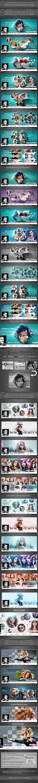 3 Facebook Timeline Cover Bundle V3 - Facebook Timeline Covers Social Media
