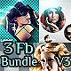 3 Facebook Timeline Cover Bundle V3 - GraphicRiver Item for Sale