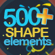 Shape Elements 500 - VideoHive Item for Sale