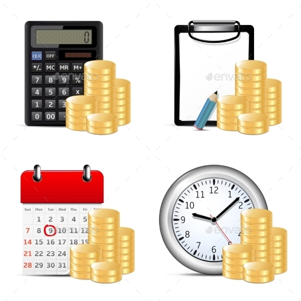 Finance Icons - Concepts Business