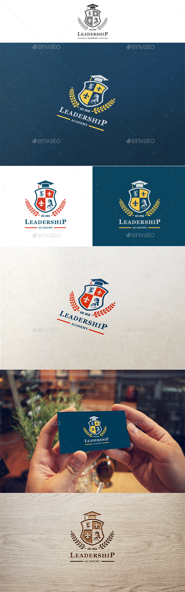 Leadership Academy Logo - Crests Logo Templates