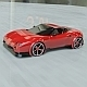 Red sports car concept vehicle - 3DOcean Item for Sale