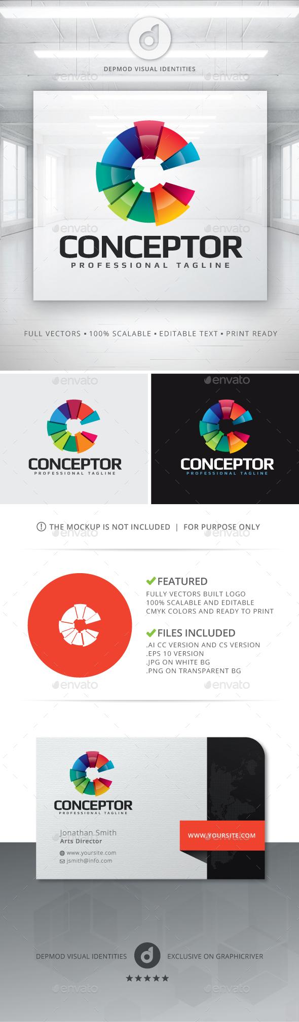 Conceptor Logo - Abstract Logo Templates