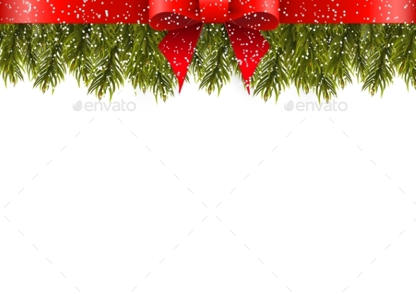 Christmas Decoration On White Background - Christmas Seasons/Holidays