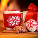 Christmas Decorations Against Fireplace - VideoHive Item for Sale