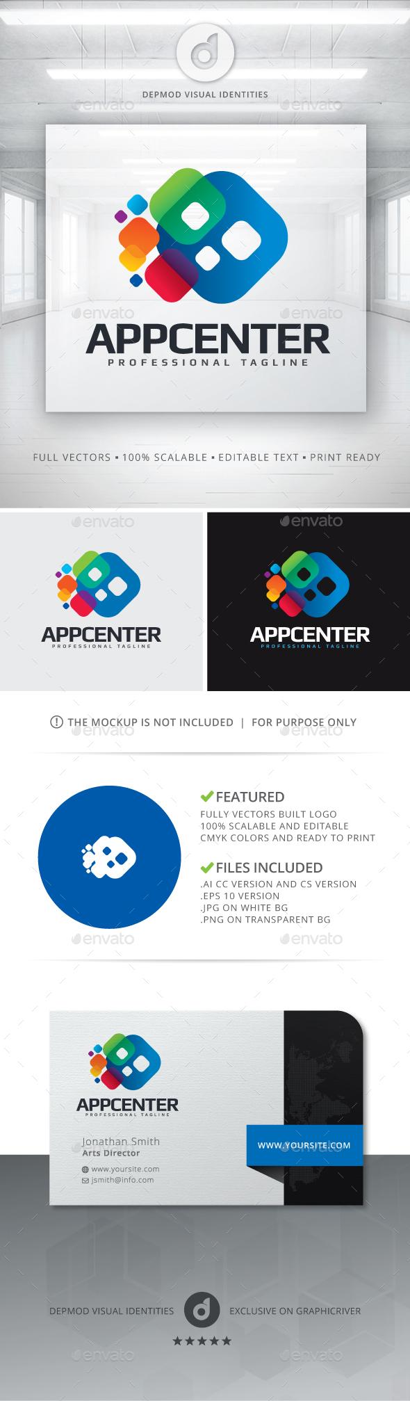 AppCenter Logo - Symbols Logo Templates