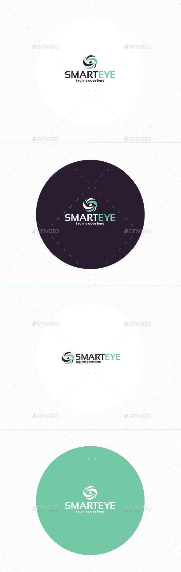 Smart Eye Logo - Symbols Logo Templates