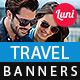 Tour and Travels Banner Template - GraphicRiver Item for Sale