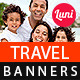 Tour & Travels Banner Set - GraphicRiver Item for Sale