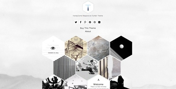 Thex – HoneyComb Responsive Tumblr Theme