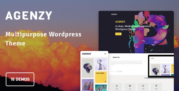 Agenzy – Multi-Purpose WordPress Theme
