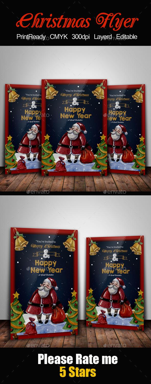 Merry Christmas Flyer Templates - Events Flyers