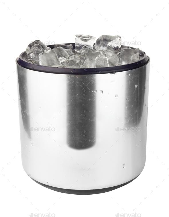 ice bucket - Stock Photo - Images