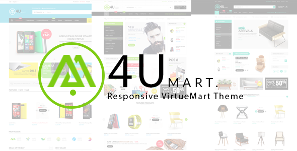 Vina M4U – Multipurpose Joomla VirtueMart Template