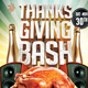 Thanksgiving Bash Flyer - GraphicRiver Item for Sale