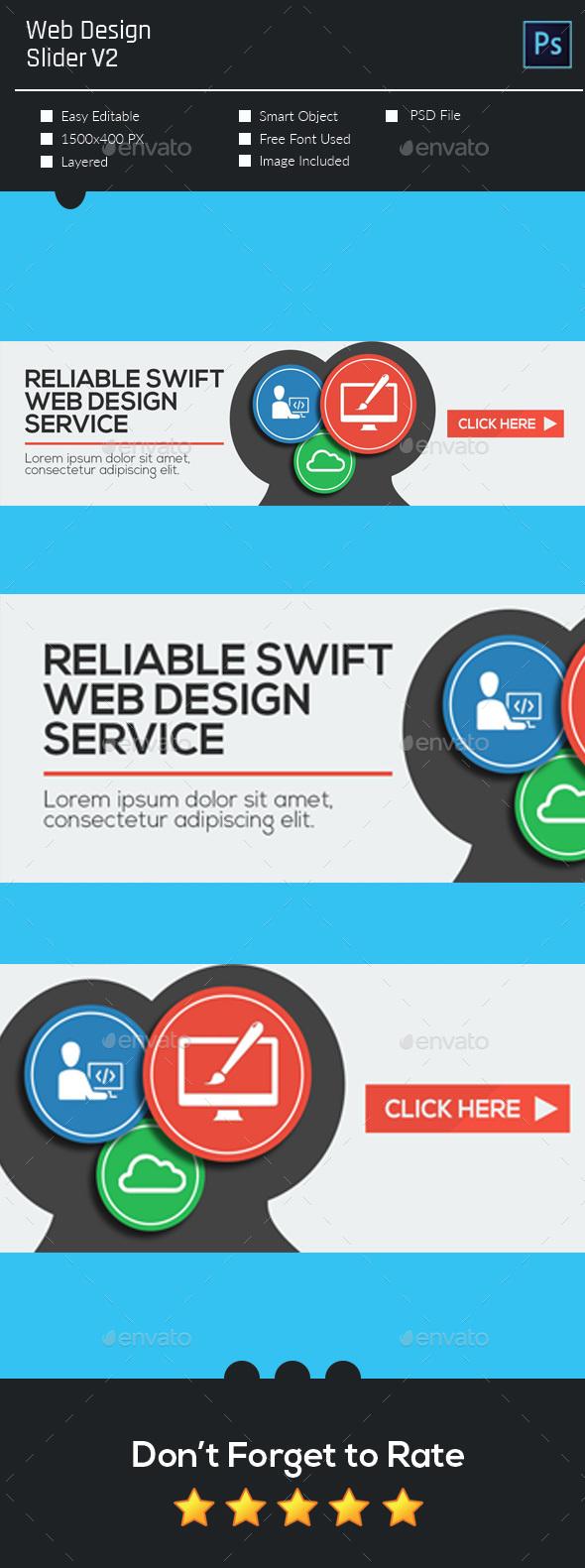 Web Design Slider V2 - Sliders & Features Web Elements