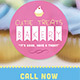 Cutie Treats Bakery Business Card - GraphicRiver Item for Sale