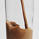 Pouring A Glass Of Chocolate Milk - VideoHive Item for Sale