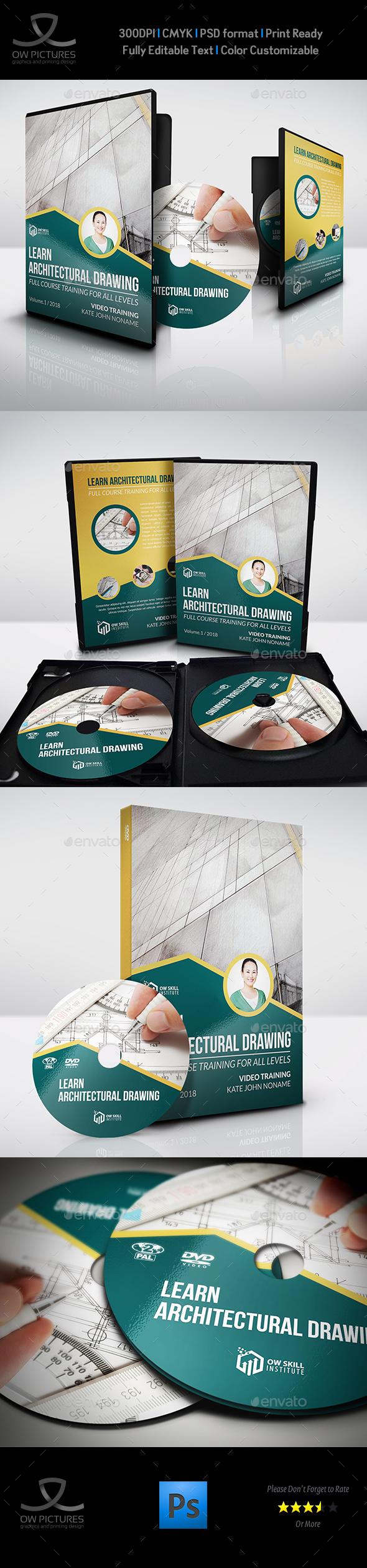 Training Course DVD Template Vol.2 - CD & DVD Artwork Print Templates