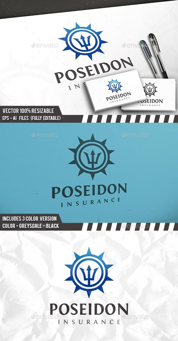Poseidon Logo - Symbols Logo Templates