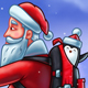 Santa Claus Pushing a Shopping Cart - GraphicRiver Item for Sale