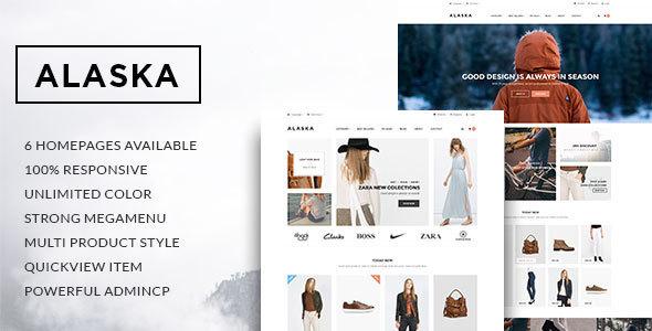 Leo Alaska Responsive Prestashop Theme - Shopping PrestaShop