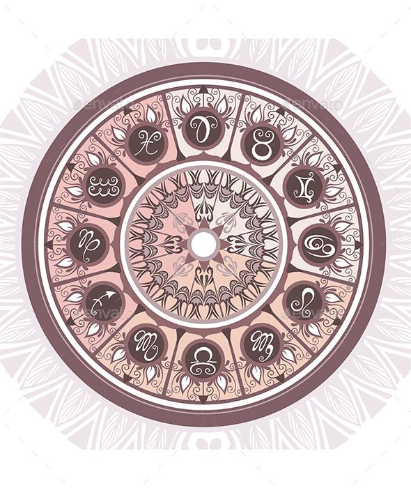 Zodiac  - Backgrounds Decorative