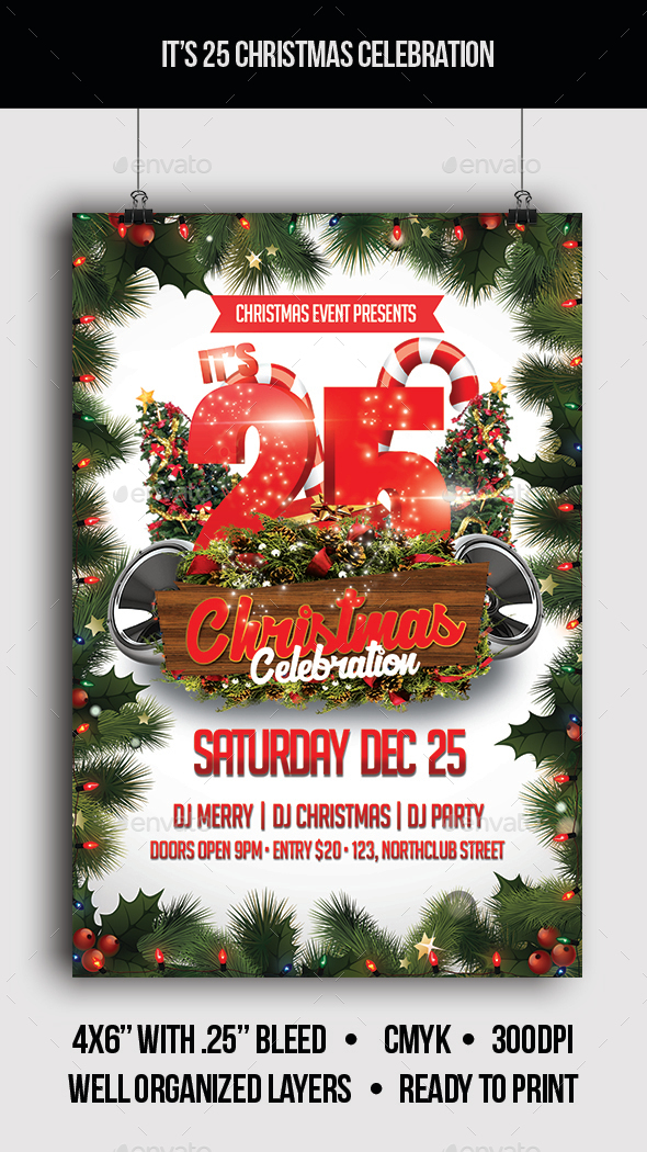 It's 25 Christmas Celebration - Clubs & Parties Events