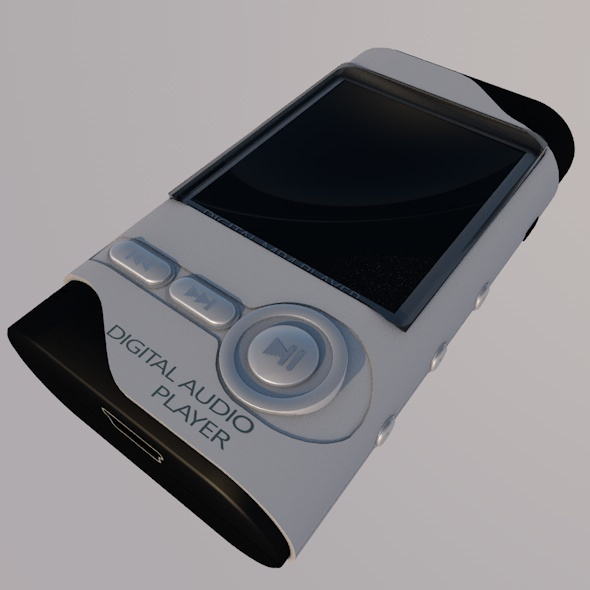 Digital MP4 Player - 3DOcean Item for Sale