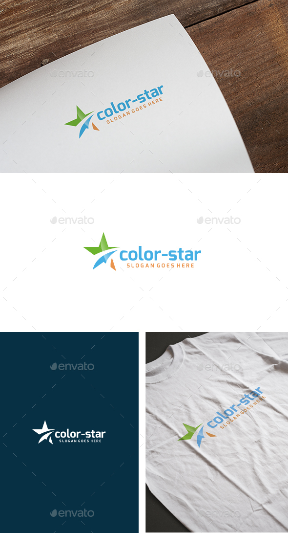 Star Color Logo - Abstract Logo Templates
