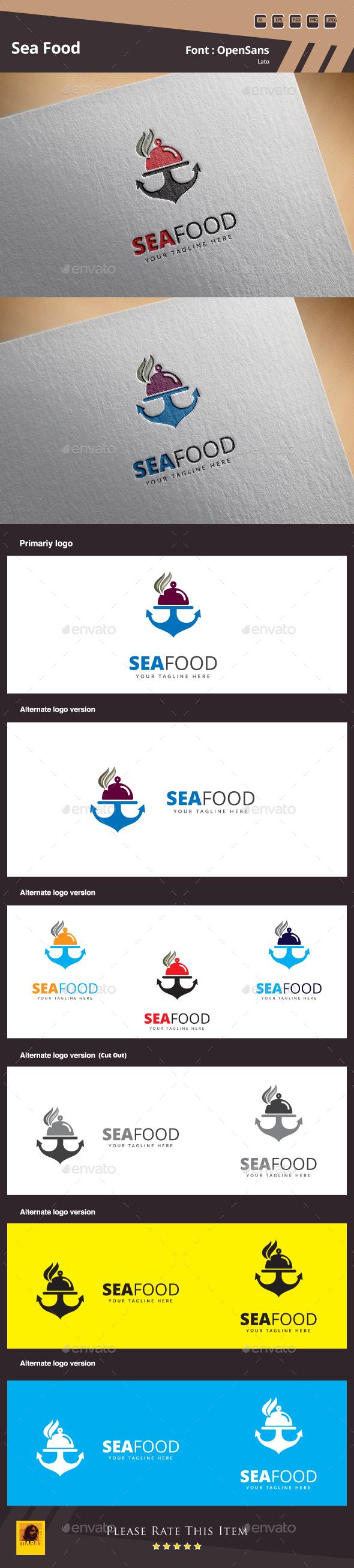Sea Food Logo - Food Logo Templates