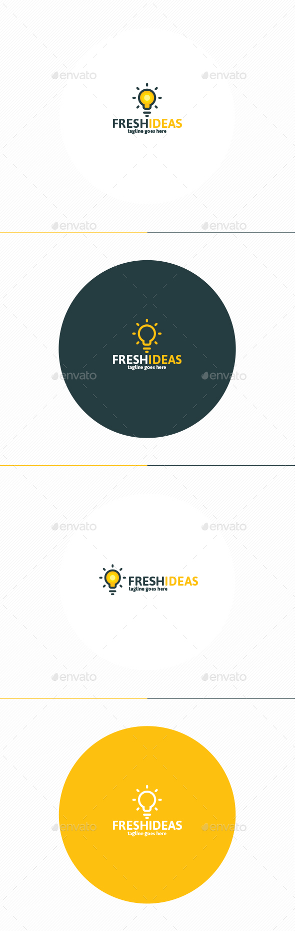 Fresh Ideas Logo - Symbols Logo Templates