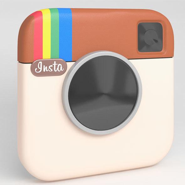Logo Instagram - 3DOcean Item for Sale
